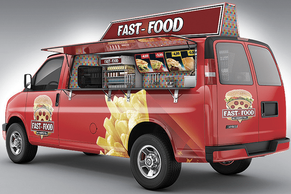 loan mobile food van